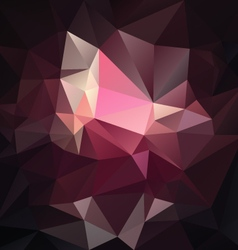 Dark pink purple black abstract polygon triangular vector