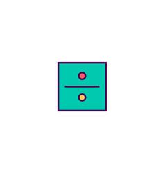 Divide icon design essential icon design vector