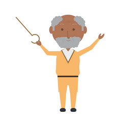 elderly man icon vector image