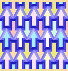 geometric abstract seamless pattern background vector image