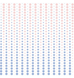 halftone dots pink and blue pastel color vector image