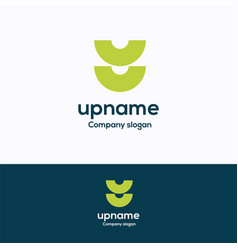 U name logo vector