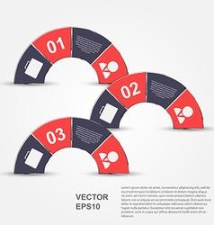Modern infographic Design elements vector image