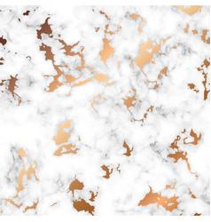 marble texture design with golden splatter spots vector image vector image
