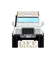 Safari offroad car truck 4x4 vector image vector image