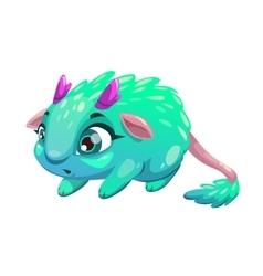 Funny cartoon funny fantasy animal vector image vector image