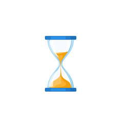 Hourglass hour-glass sandglass sand-glass icon vector