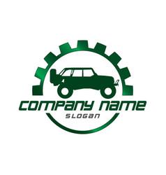 Jeep design vector
