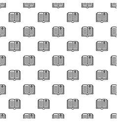 Open torah pattern seamless vector