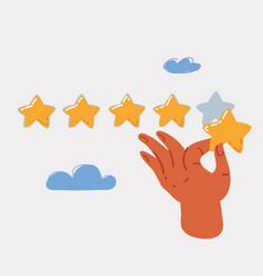 Positive feedback concept vector