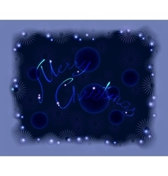 Postcard for Christmas EPS10 vector image vector image