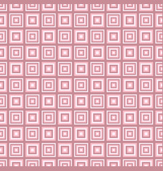 Simple seamless square pattern background vector