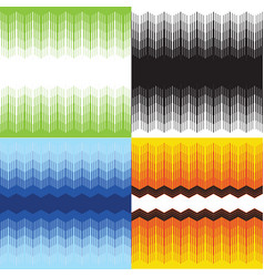 texture seamless zigzag pattern vector image