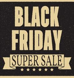 Total sale discount banner retro vintage style vector