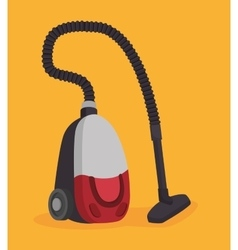 Vacuum cleaner design vector