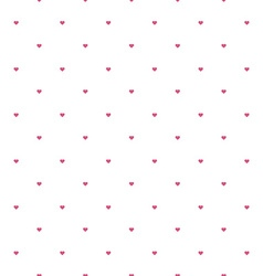 valentine hearts sparse pattern vector image