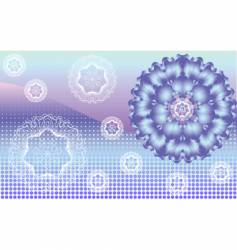 crystal vector image