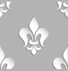 Damask seamless pattern element vector
