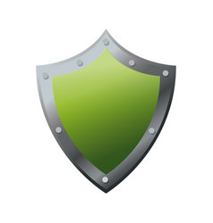 shield protection security technology data vector image vector image
