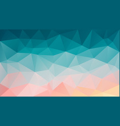 Abstract irregular polygon background blue pink vector