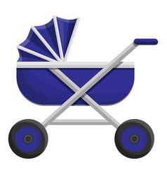 baby stroller icon cartoon style vector image