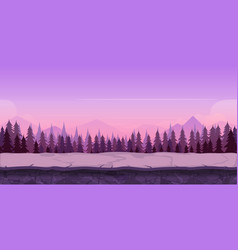 Background for your game created in modern purple vector