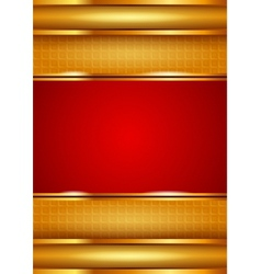 Background template red vector image