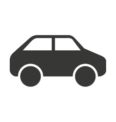 car vehicle isolated icon design vector image