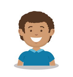 Father avatar character icon vector