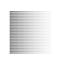 geometric halftone gradient dots background vector image