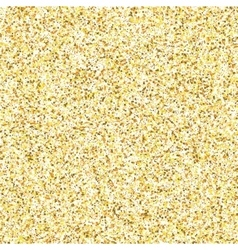 Gold glitter texture isolated on golden background vector