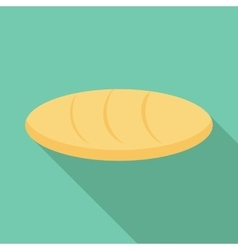Loaf icon flat style vector