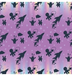 Pattern modern style delicate color vector