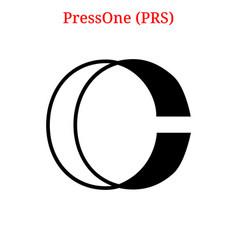 Pressone prs logo vector