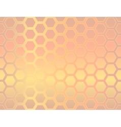 Seamless geometric hexagon background vector