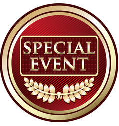 special event icon vector image