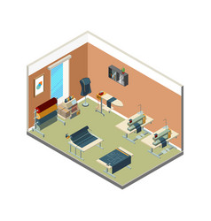Textile production manufacturing factory vector