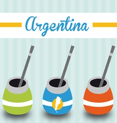 Argentinean mate vector