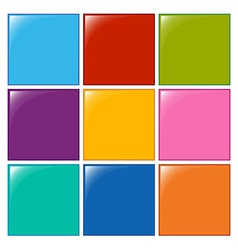Colourful squares vector