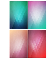 Eye-Catching flat background with Gradient Effect vector image vector image