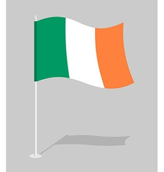 Flag of Ireland Official national character of vector image