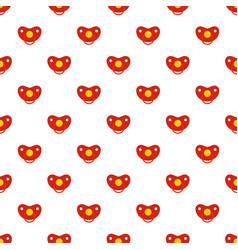 girl nipple pattern seamless vector image