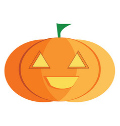 Halloween decoration item or color vector
