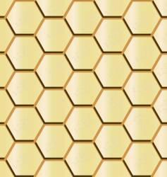 honeycomb seamless vector image