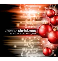 Neon merry christmas vector image