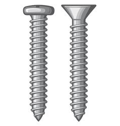 Screws vector