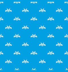 Workshop pattern seamless blue vector