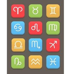 Zodiac icon for web or mobile vector image vector image