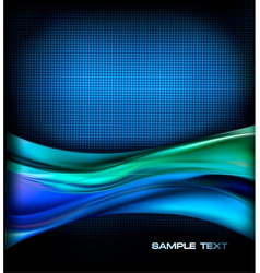 Business elegant blue abstract background vector image