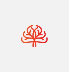 Abstract tree logo icon design universal vector